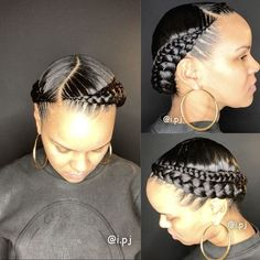 Top 60 All the Rage Looks with Long Box Braids - Hairstyles Trends Braided Hairstyles For Black Women Cornrows, Black Women Hairstyles, Hairstyles With Bangs, Braid Hairstyles, Short Haircuts, Hairstyle Ideas, Braided Mohawk, Woman Hairstyles, Teenage Hairstyles