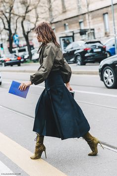 30 Chic Summer Outfit Ideas - Street Style Look. Milan Fashion Weeks, Paris Fashion, Love Fashion, Fashion Trends, Net Fashion, Street Fashion, Vintage Fashion, Christine Centenera, Moda Paris