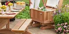 Make a handsome cooler enclosure to update a backyard essential