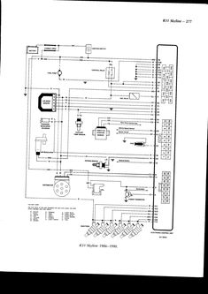 Wiring diagram for nissan 1400 bakkie #4 | nissan | Pinterest ...
