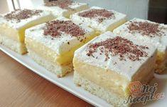 Ledové kostky s čokoládovým krémem   NejRecept.cz Confectionery, Vanilla Cake, Tiramisu, Cheesecake, Ethnic Recipes, Desserts, Food, 3, Lemon Tarts