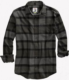 Gray/ black checks/plaid are a favorite of mine, pls send Flannel Shirt Outfit, Flannel Outfits, Mens Flannel Shirt, Mens Casual Dress Outfits, Casual Shirts, Suit Fashion, Bob, Mens Clothing Styles, Cool Shirts