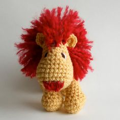 Cure crochet animals for the baby!
