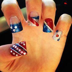 9/11 nail art - Google Search