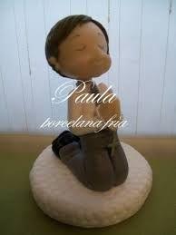Resultado de imagen para niño en porcelana fria para comunion
