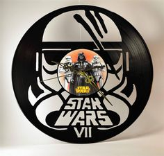Give old records a new life :) Discover more cool items or get material for your own project in the Shpock app  #upcycling #starwars