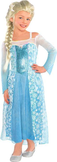 High Quality Girls Elsa Costume   Frozen