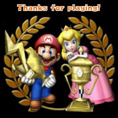 9 Best Thank You For Playing End Screens Images Play Mario