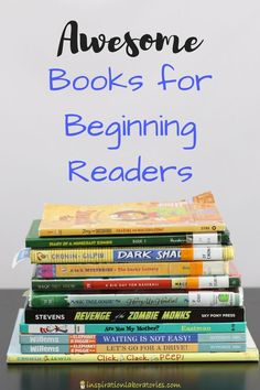 Top books for beginning readers - includes our favorite picture books and chapter books for emerging and independent readers. sponsored by Best Children Books, Books For Boys, Childrens Books, Young Children, Books For Beginning Readers, Early Readers, Are You My Mother, Library Lessons, Library Ideas