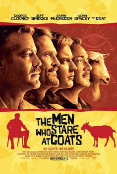 Les chèvres du Pentagone (The Men who stare at Goats) | Grant Heslov | 2009.