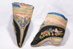 chinese lotus shoes for bound feet