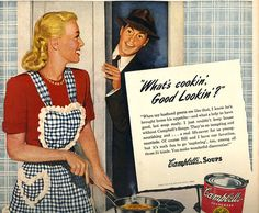 vintage what is cooking good looking 1947 by FrenchFrouFrou, $12.95