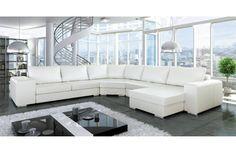 Canapé d'angle design Fabia