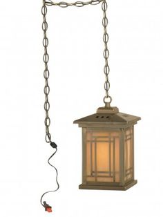 Dale Tiffany Ceiling Lights Mission 1 Light Pendant - TH10890