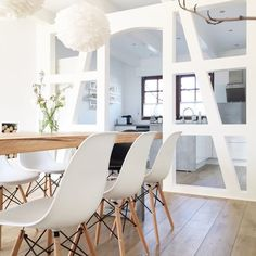 Dining Rooms Tables Sweet Scandi Chic Schick Forward Eames