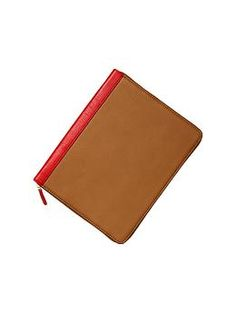 Santa Please?  Two-tone leather tablet case | Gap