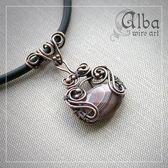 Alba wire art