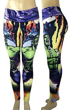 d940a3b90c2eb4 Captain America Superhero Leggings Yoga Pants Compression Tights at Amazon  Women's Clothing store: