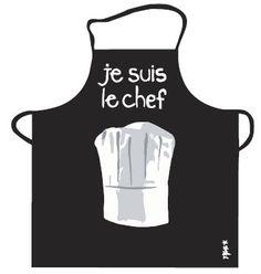 """Tablier """" Je suis le Chef"""""""