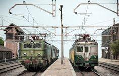 TrainScape: Diorama basado en Vadollano. 56 Diorama, Model Train Layouts, Model Trains, Military Vehicles, World, Trains, Toy Trains, Blue Prints, Train Station