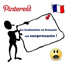 #Pinterest est enfin traduit en français.❤ La traduction est pour le moins surprenante. ➨ Pour en savoir plus lisez la suite de l'article http://tomatejoyeuse.blogspot.com/2012/10/pinteres-en-francais-traduction-bizarre.html