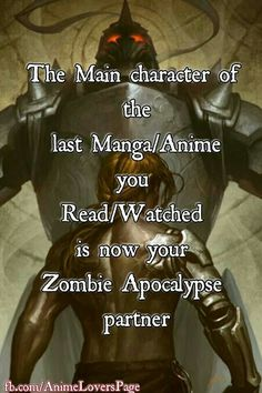 Eren Jaeger - hey, could do worse. He turns into a massive big-ass Titan, so yay!