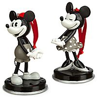 Mickey and Minnie Mouse ''1928'' Ornament Set
