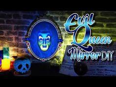 Disney DIY - EVIL QUEEN MIRROR & POISONED APPLE TUTORIAL ENG/FR - YouTube