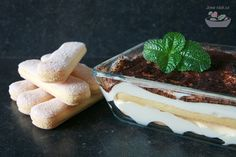 Tiramisu (s bezlepkovou variantou) Tiramisu, Pudding, Ethnic Recipes, Desserts, Food, Diet, Tailgate Desserts, Deserts, Custard Pudding