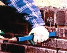 Home-Dzine.co.za | diy | building and construction projects | repoint a facebrick wall - repair mortar joints