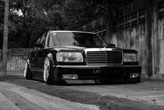 Slammed Mercedes