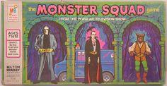Milton Bradley 1977 The Monster Squad Game