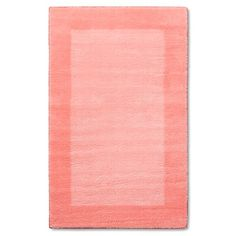 Border Area Rug Coral 5'x7' - Pillowfort™