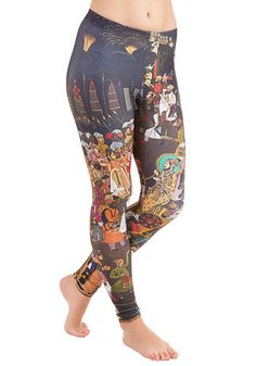 Imaginative Merriment Leggings in Procession, @ModCloth
