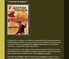 #RRSS Blogger : -Caravana de Mujeres: utilizar el blog para promoción de destino/actividades