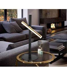 Comprar online Lámpara de Mesa colección VARAS 2L Oro/Negro Schuller Sofa, Couch, Living Room, Simple, Table, Design, Furniture, Home Decor, Products