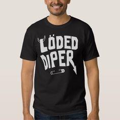 loded diper t-shirt