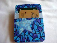 Carteira Mágica Blue Stars  www.munayartes.com