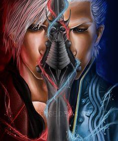 vergil & dante --- My blood brother. by JaysonRevenge Sasuke Uchiha, Naruto, Ninja, Fanfiction, Dante Devil May Cry, Dark Warrior, Great Albums, Crying, Blood