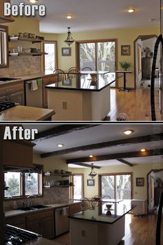 Great updated look using our beams!