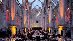 Carmo Convent Lisbon Lisbon, Wedding Venues, Around The Worlds, Beautiful, Portugal, Industrial, Wedding Reception Venues, Wedding Places