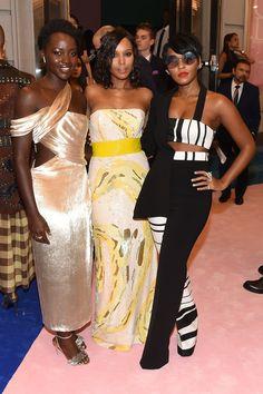 Lupita Nyongo, Kerry Washington and Janelle Monae  - Celebrity Photos of The Week: June 4 - June 10