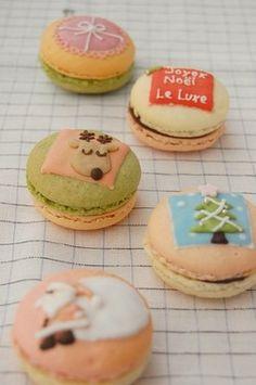 Christmas Macarons#JapanLoverMonthsary