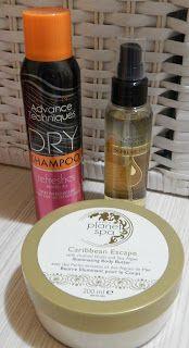 Avon Planet Spa Illuminating body butter Caribbean escape, dry shampoo & Supreme oils hair oil with nutri 5 complex