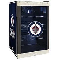 NHL Glass Door Refrigerated Beverage Center 4.6 cu. ft. capacity-  Jets