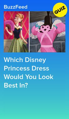 Which Disney Princess Dress Would You Look Best In? Which Disney Princess Dress Would You Look Best In? You got: Belle& Pink Dress This dress is simple, but feminine. You can go out into the snow or cuddle up by a fire in it! Disney Buzzfeed, Quizzes Buzzfeed, Disney Quiz, Disney Test, Punk Disney, Disney Disney, Princess Quizzes, Disney Princess Facts, Disney Fun Facts