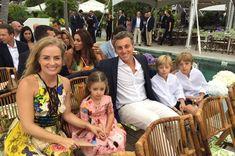 Angélica e Luciano Huck foram com os filhos Eva,  (Foto: Bruno Astuto)