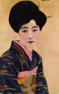 Vintage Japanese Postcards Shogun Gallery - Fine Japanese Woodblock Prints & Mogul & Persian Miniature Paintings - Shogun Gallery - Fine Jap...