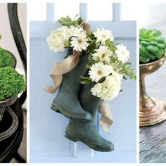 20 DIY Ideas for Creative Floral Arrangements - Provided by Country Living