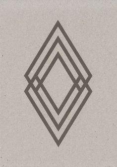 renault logo par victor vasarely 1972 logo iconic pinterest victor vasarely logos and. Black Bedroom Furniture Sets. Home Design Ideas